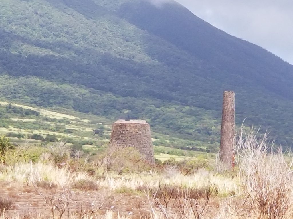 Remains of Sugar Mills on St. Kitts